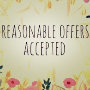 Other - Reasonable Offers Accepted